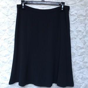 EUC Doncaster Black Flirty Skirt Sz6